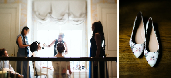 Getting ready moments at Virginia Barn Wedding in Richmond