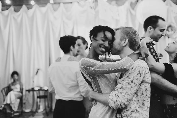 Sweet handmade wedding at Adams International School in Richmond Virginia