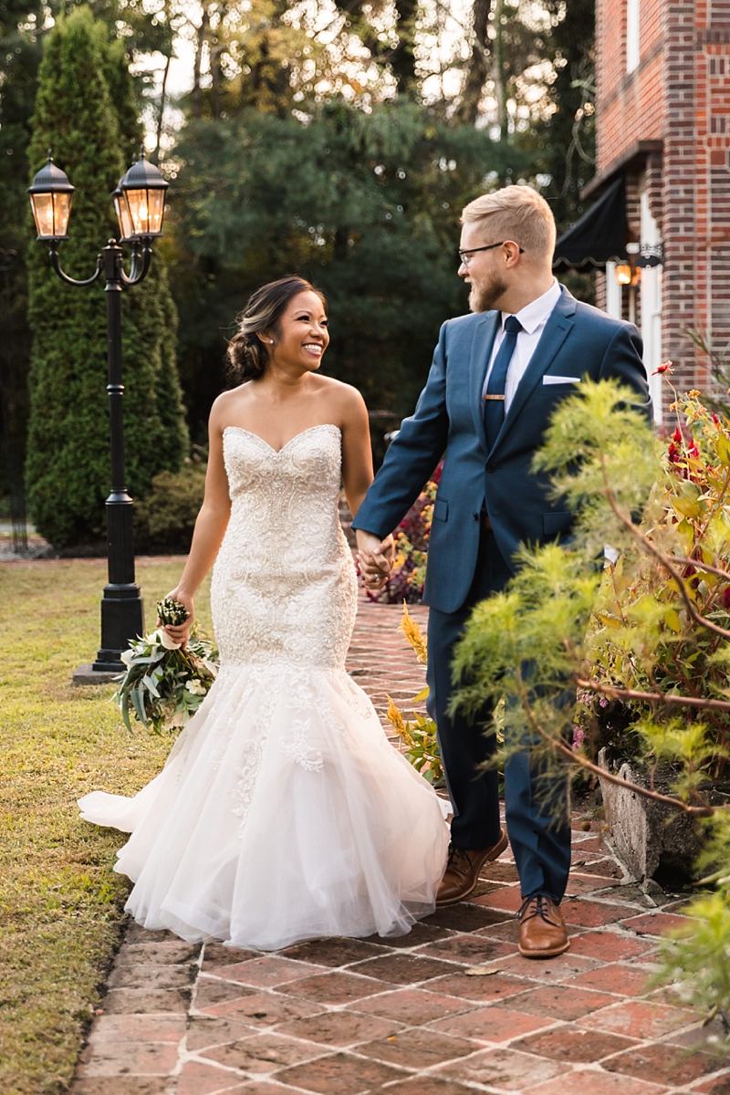 Romantic Filipino wedding at Historic Mankin Mansion in Richmond Virginia