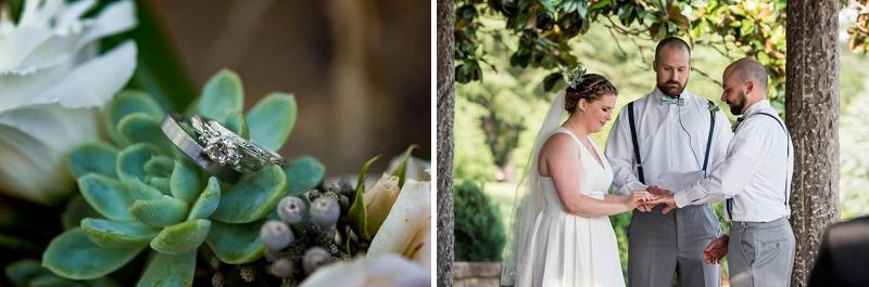 Succulents and other garden wedding ideas for Virginia wedding
