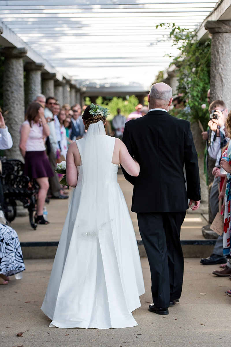 Unique standing only wedding ceremony for intimate celebration
