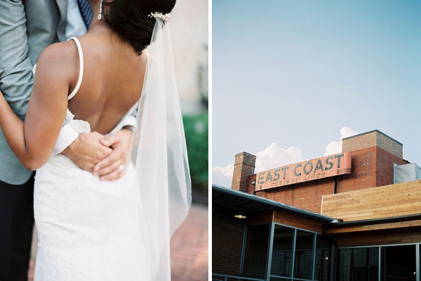 Industrial warehouse wedding in Richmond Virginia