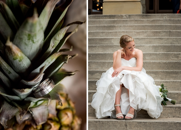 Tropical wedding in Richmond Virginia at Havana 59