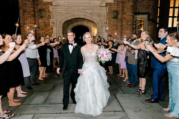 Elegant garden wedding with Star Wars inspiration at the Branch Museum in Richmond Virginia
