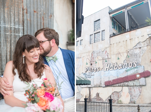 Tropical surprise wedding at Havana 59 in Richmond Virginia
