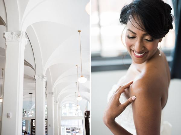 Richmond bride at Quirk Hotel