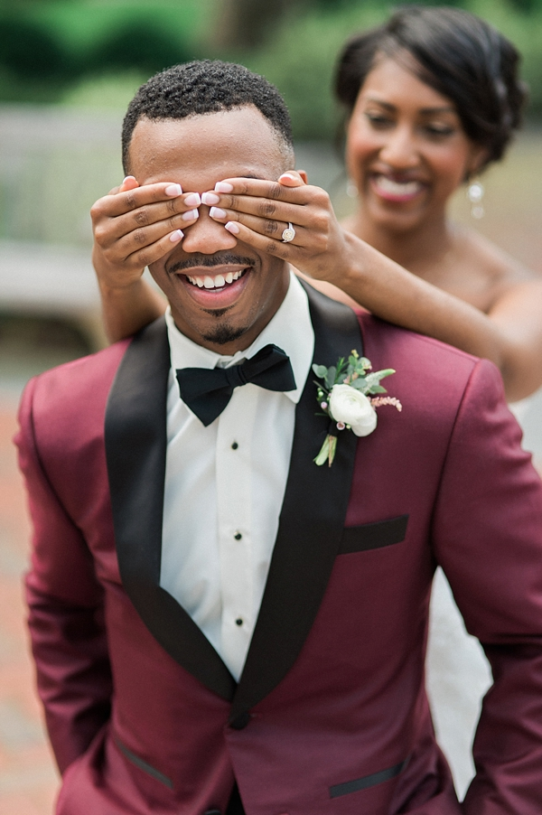 Downtown Elegance Wedding Of Burgundy And Blush Tidewater And