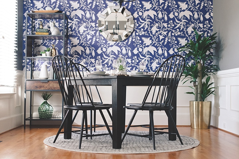 How to style your dining room by using old and new stuff from your Bed Bath and Beyond wedding registry