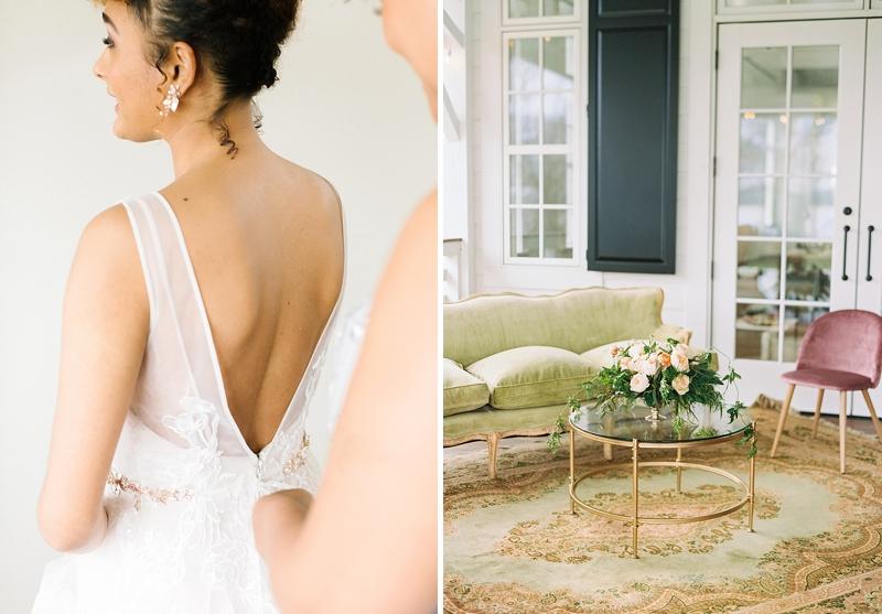Wedding preparations at Upper Shirley Vineyards in Virginia