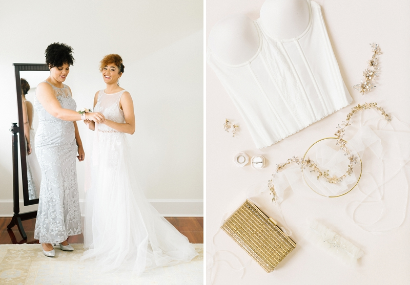 Bridal accessories for modern bride from Davids Bridal