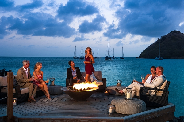 Sandals Grande St Lucian nightlife in St Lucia