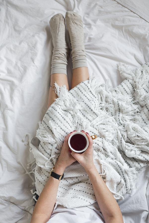 How to get cozy hygge moments for your nighttime routine before your wedding