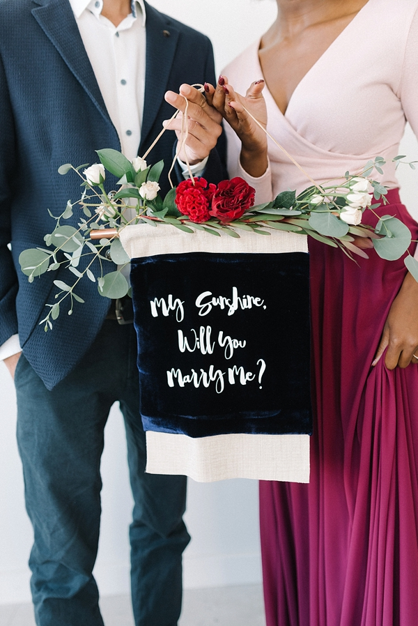 Modern Thanksgiving Marriage Proposal Inspiration Tidewater And