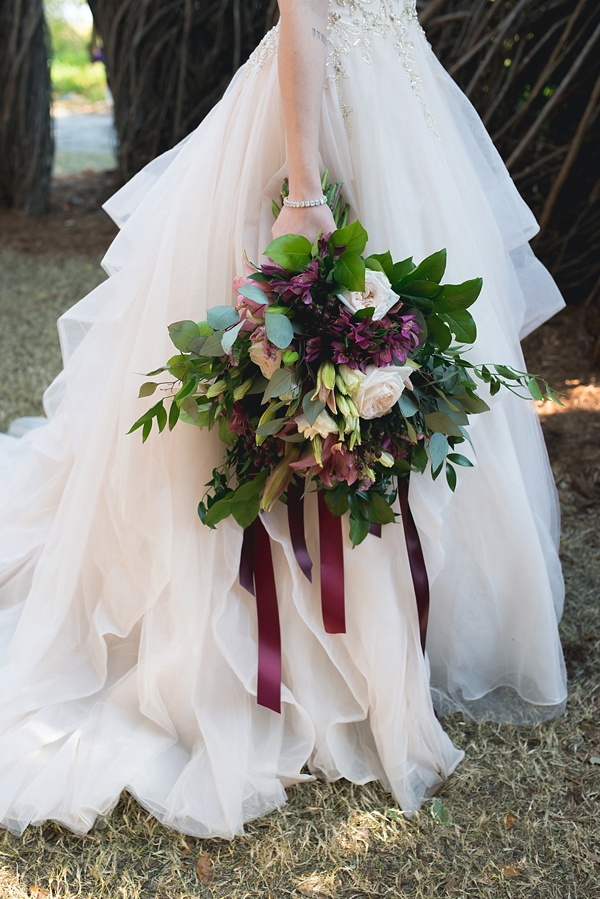 Moody maroon burgundy red oversized wedding bouquet