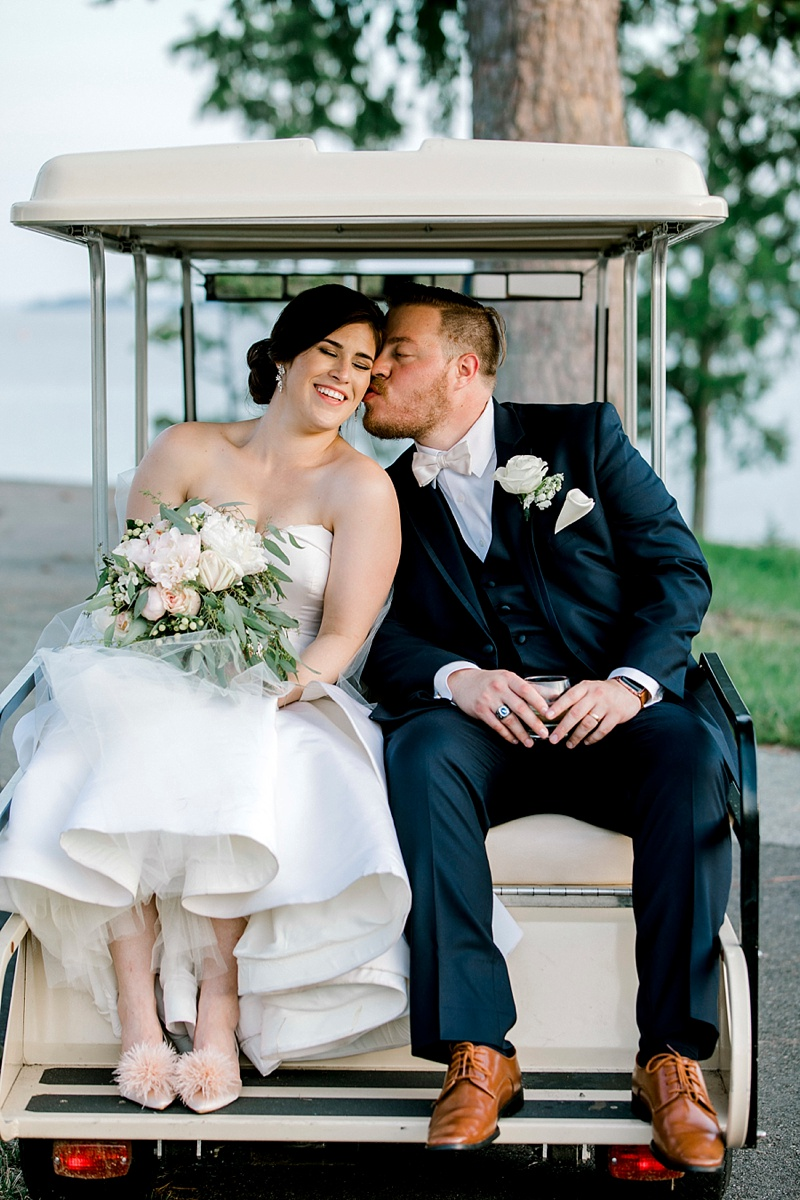 Fun destination weddings for golf lovers at Kingsmill Resort in Hampton Roads Virginia