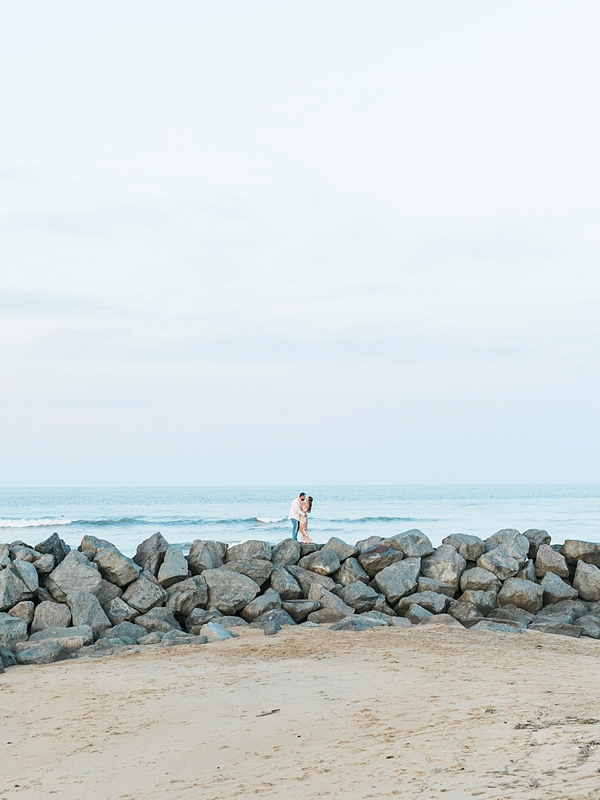 Gorgeous beach engagement session