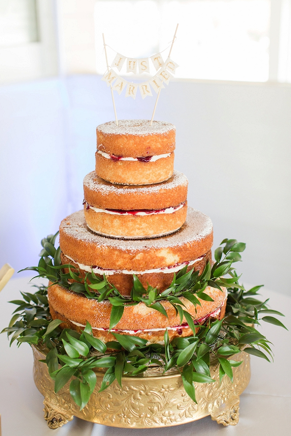 Traditional English Victoria sponge with raspberry jam and buttercream for wedding cake