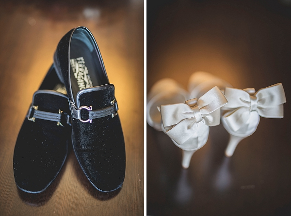 Bride and bride shoes