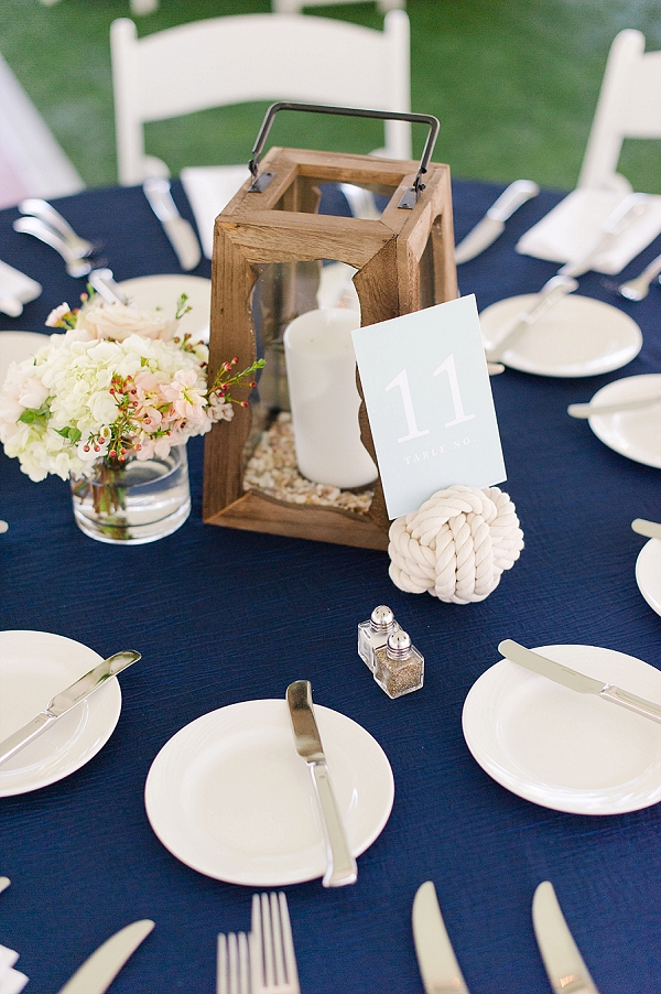 nautical wedding decor classic nautical yacht club wedding tidewater and tulle 6105
