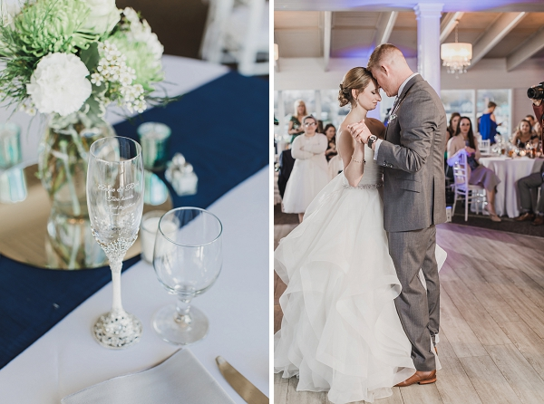 First dance moment at the Water Table in Virginia Beach
