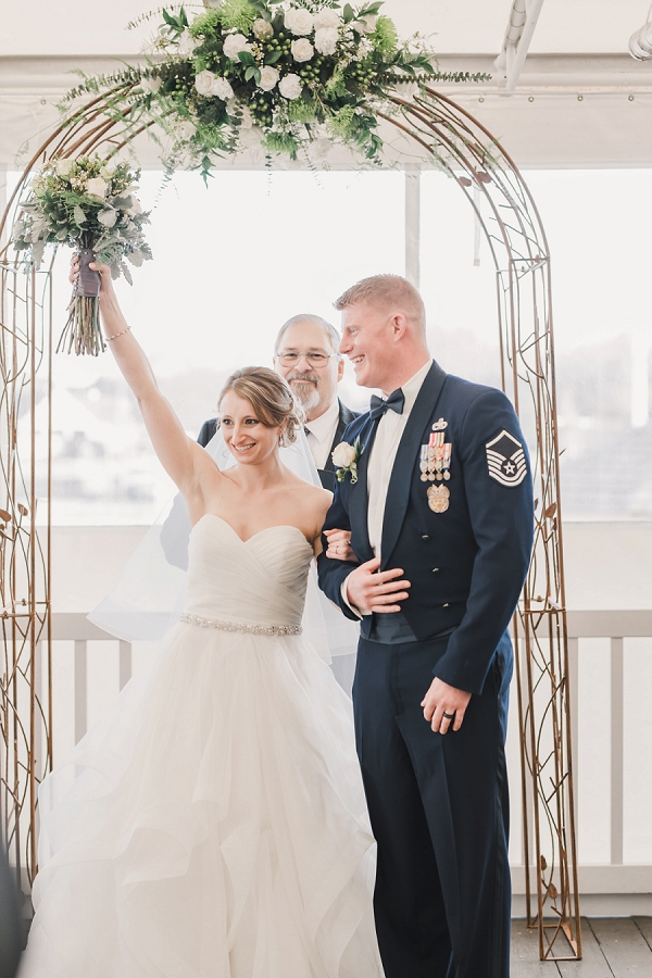 Virginia Beach military wedding at the Water Table