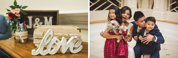 Virginia Beach Virginia winter wedding