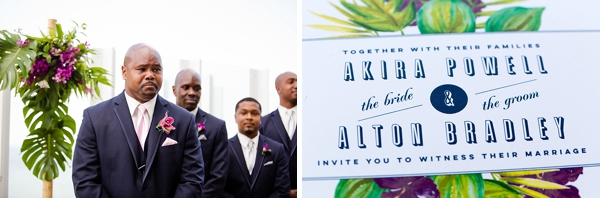Oceanaire Resort wedding ceremony in Virginia Beach