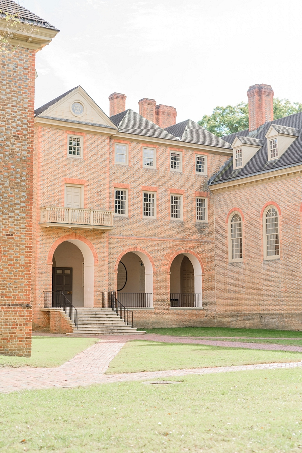 College of William and Mary wedding ceremony