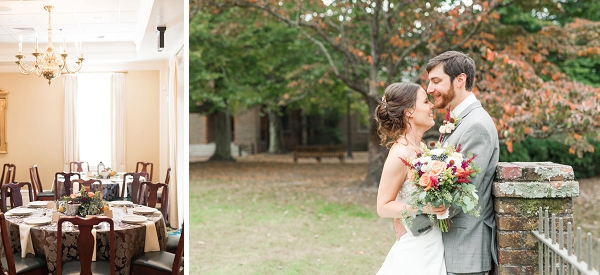 Classic fall wedding ideas in Virginia