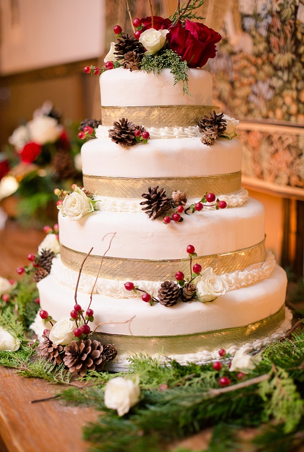 Rustic Red And White Christmas Wedding In Williamsburg