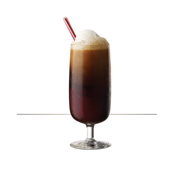 Tuaca root beer float