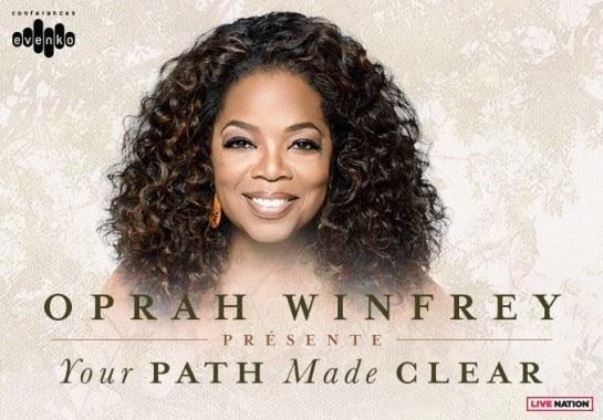 Oprah Winfrey au Centre Bell