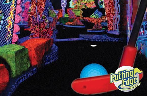glow putt mini golf coupon