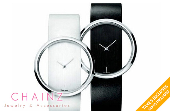 29$ pour une montre glamour avec cadran transparent