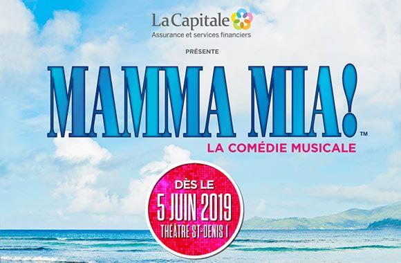 Mamma Mia en spectacle