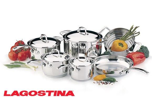 Rabais exclusifs de 50 et plus - Batterie de cuisine lagostina ...