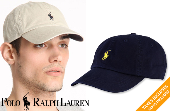 3b801bded A Polo Ralph Lauren classic cotton chino sports cap, available in 4 colors
