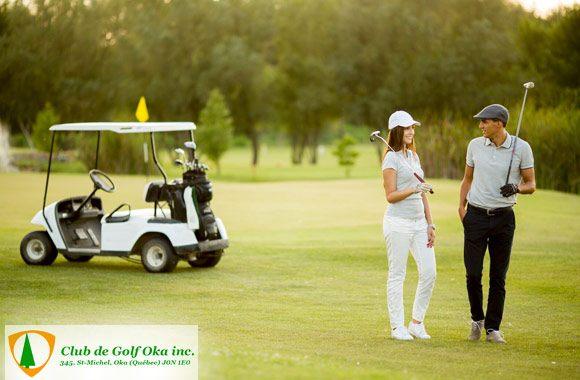 Round of golf in Oka!