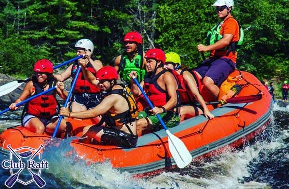 Aventure en rafting