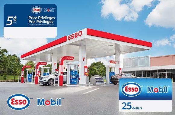 DERNIÈRE CHANCE: Esso et Mobil