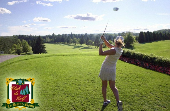 Golf for 2 at Lac-aux-Sables