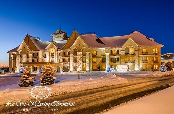 Nuitée, ski et spa à Bromont