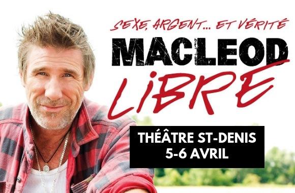 Peter Macleod au théâtre St-Denis