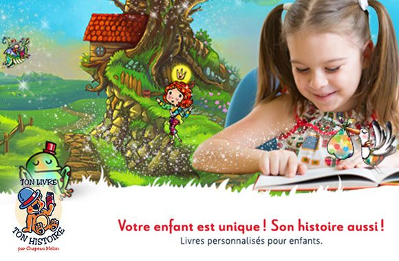 Customized kids' books (French only)