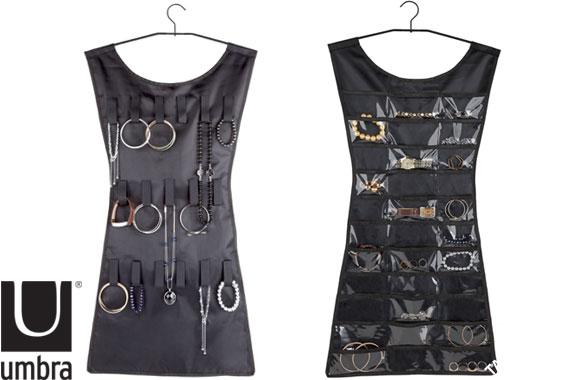 Umbra LBD Jewellery Storage Organiser Black
