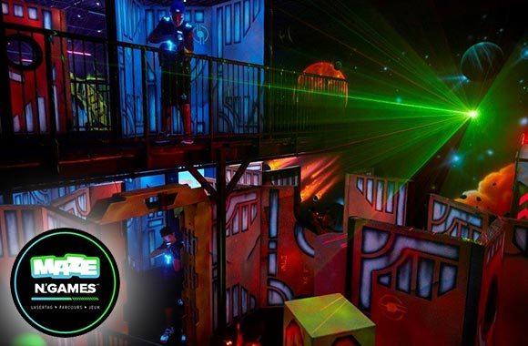 DERNIÈRE CHANCE! lasertag illimitées