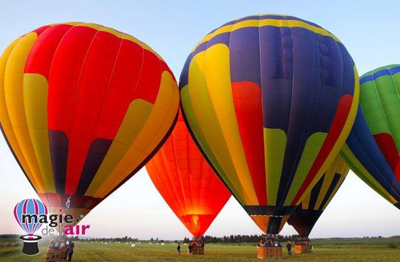 Envolée en montgolfière