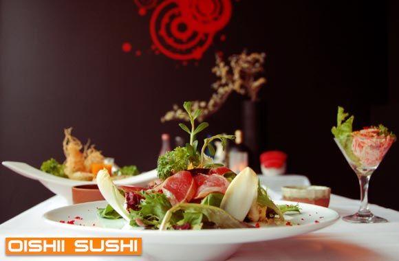 Oishii sushi pour 2