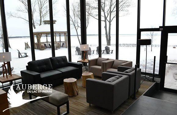 Auberge du Lac St-Pierre: romantique