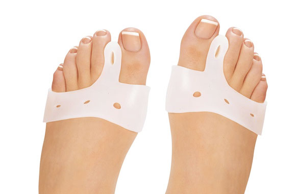 Healing toe separator/bunion spacers